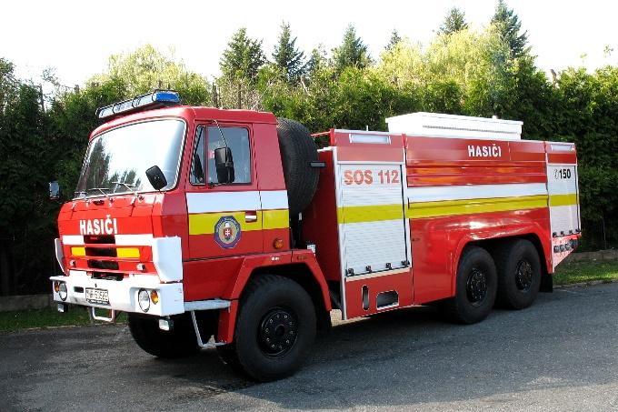 Celková oprava CAS 32 Tatra 815 6x6