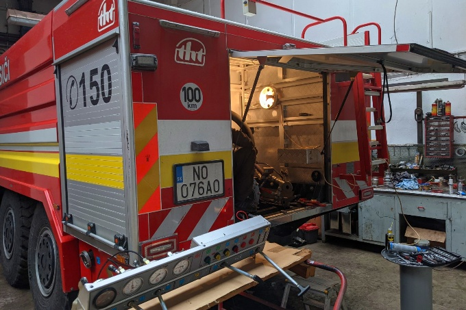 Servis hasicskych vozidiel